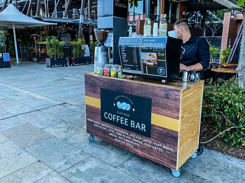 Hire coffee cart in Sydney