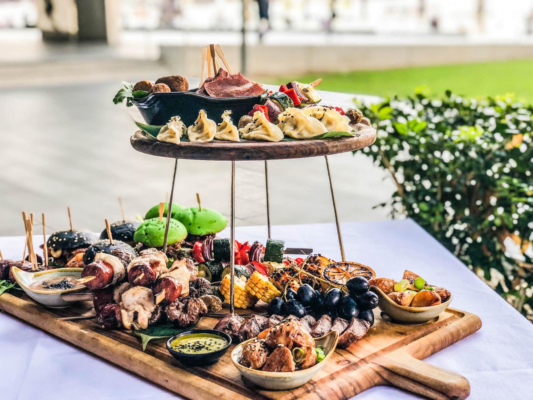 Hot food platter catering in Sydney
